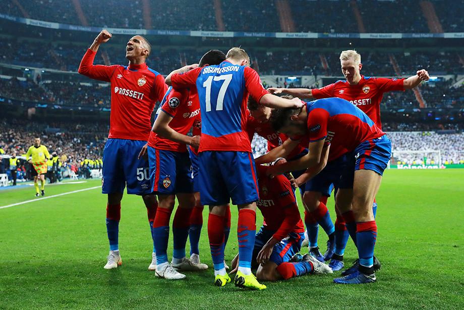 ЦСКА разгромил Реал на его поле  3 : 0