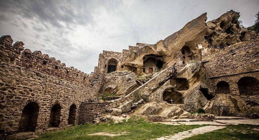 Монастырь Давида Гареджа в Грузии
