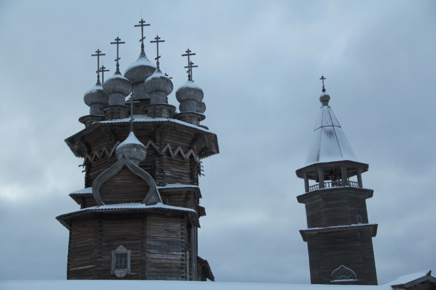 Церковь и колокольня