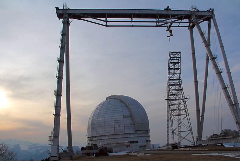 Крупнейший в Европе телескоп