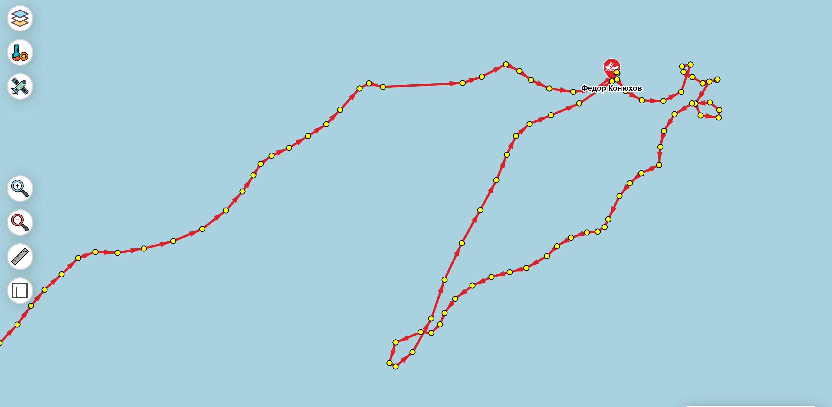 Траектории Федора