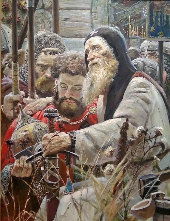 """""""Благословление Сергия"""""""