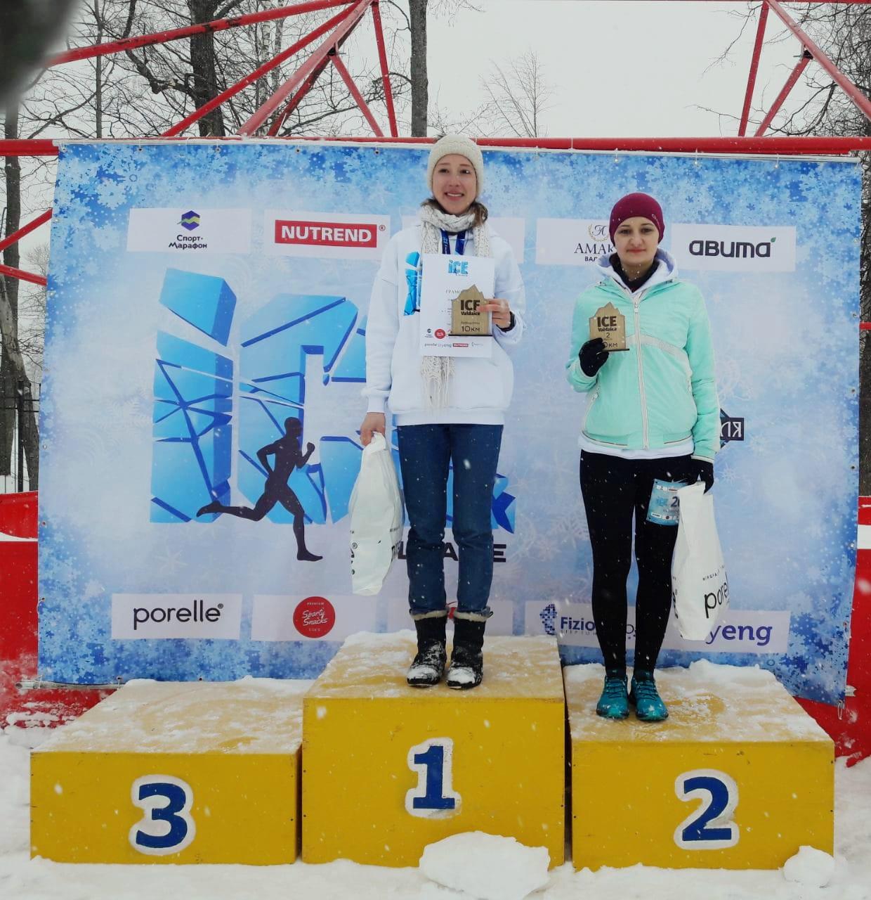 Анна Пикулева, победительница Ice Valday 2019 среди женщин