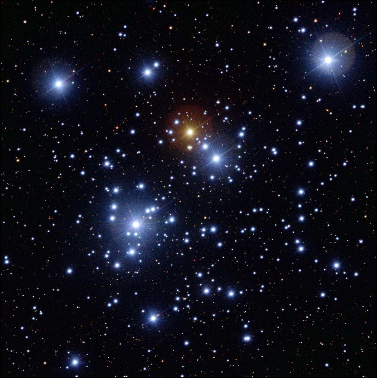 Звездное скопление NGC 4755