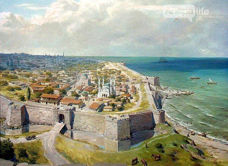 Турецкая крепость Анапа (работа Юрия Ковальчука)