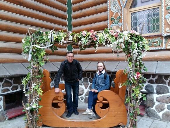 Беседка Дворца бракосочетания внутри Измайловского Кремля