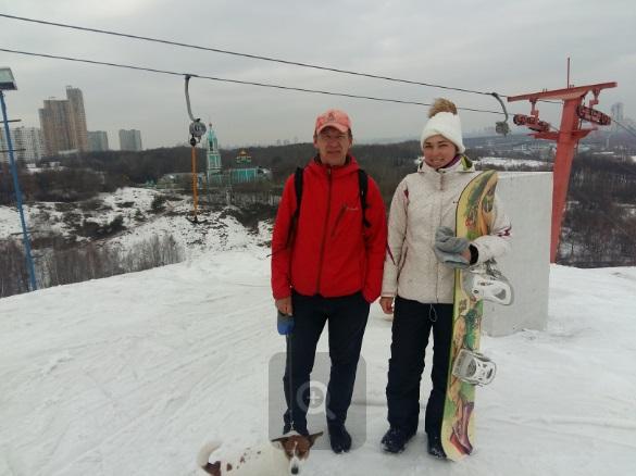 Закрытие горнолыжного сезона на Крылатских холмах