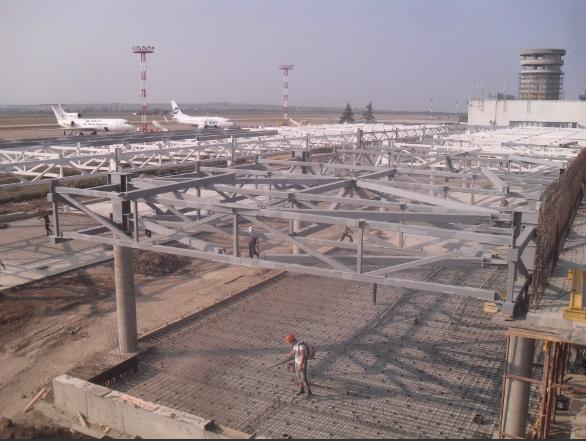 Строительство аэровокзала в Анапе