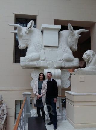 В музее изобразительных искусств имени Пушкина