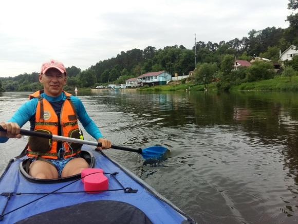 Отплываем от пристани Звенигорода