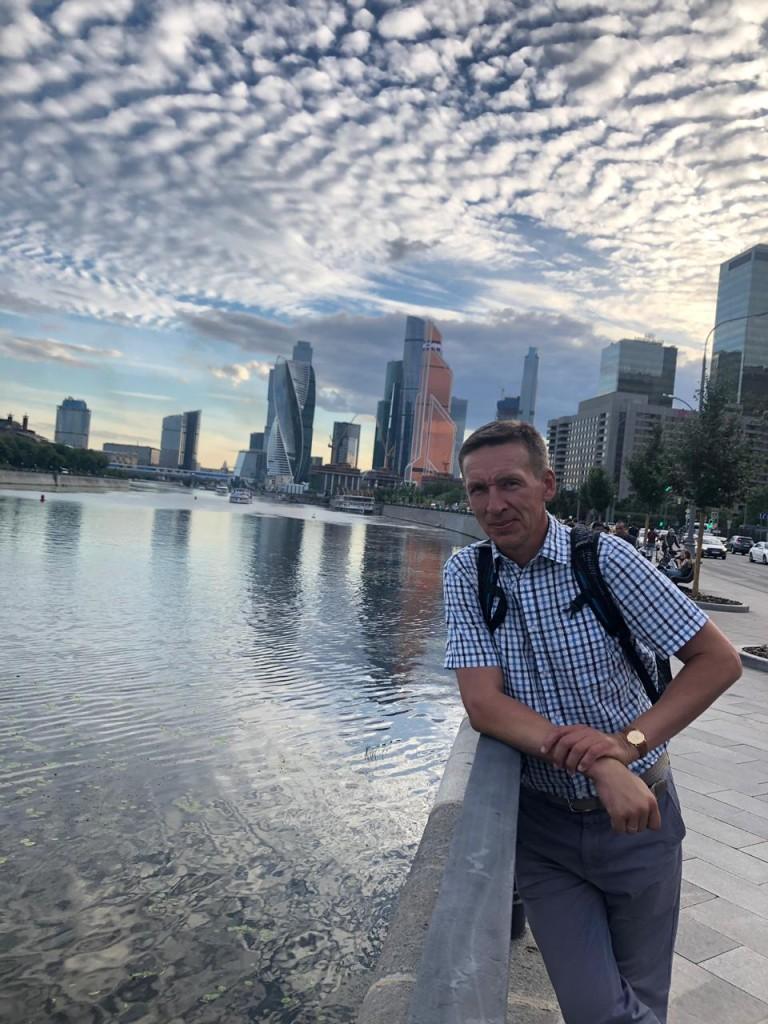 Изучаю гидрологию Москвы-реки