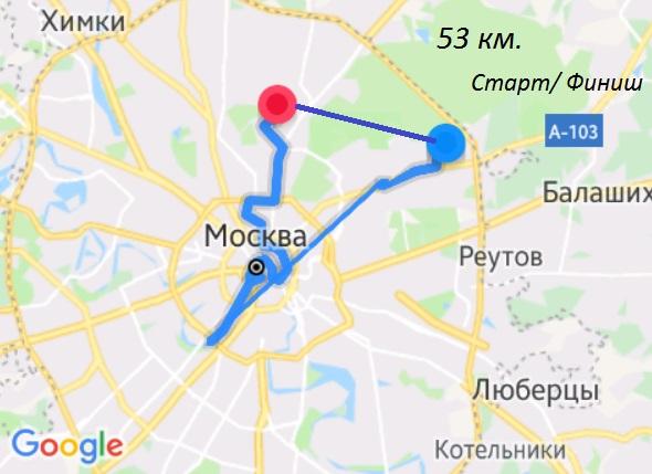 Наш маршрут 13 июля