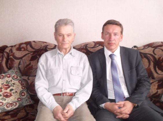 Я и Аркадий Иванович Новиков