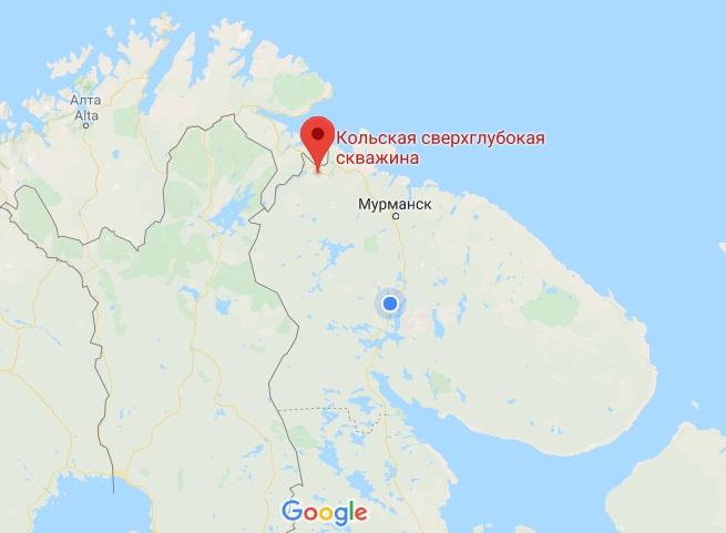 СГ3 на карте
