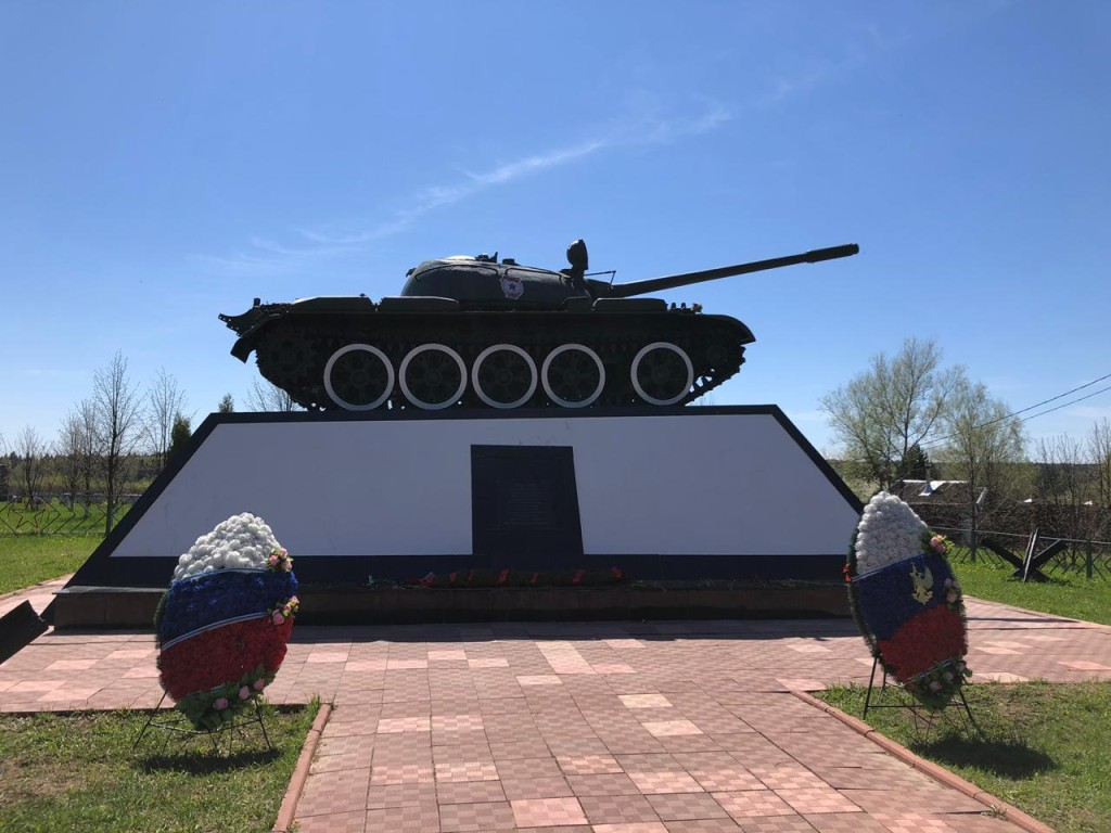 Памятник танковым боям в Нефедьево