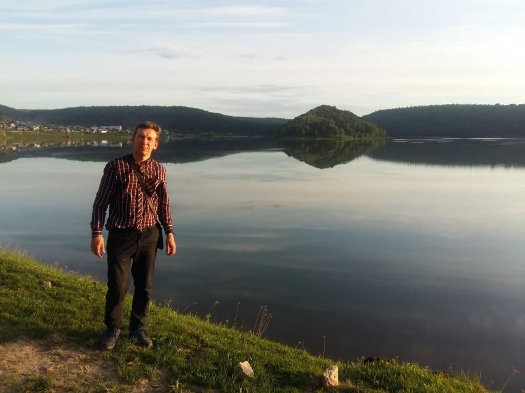 Чудное место на реке Юрюзань