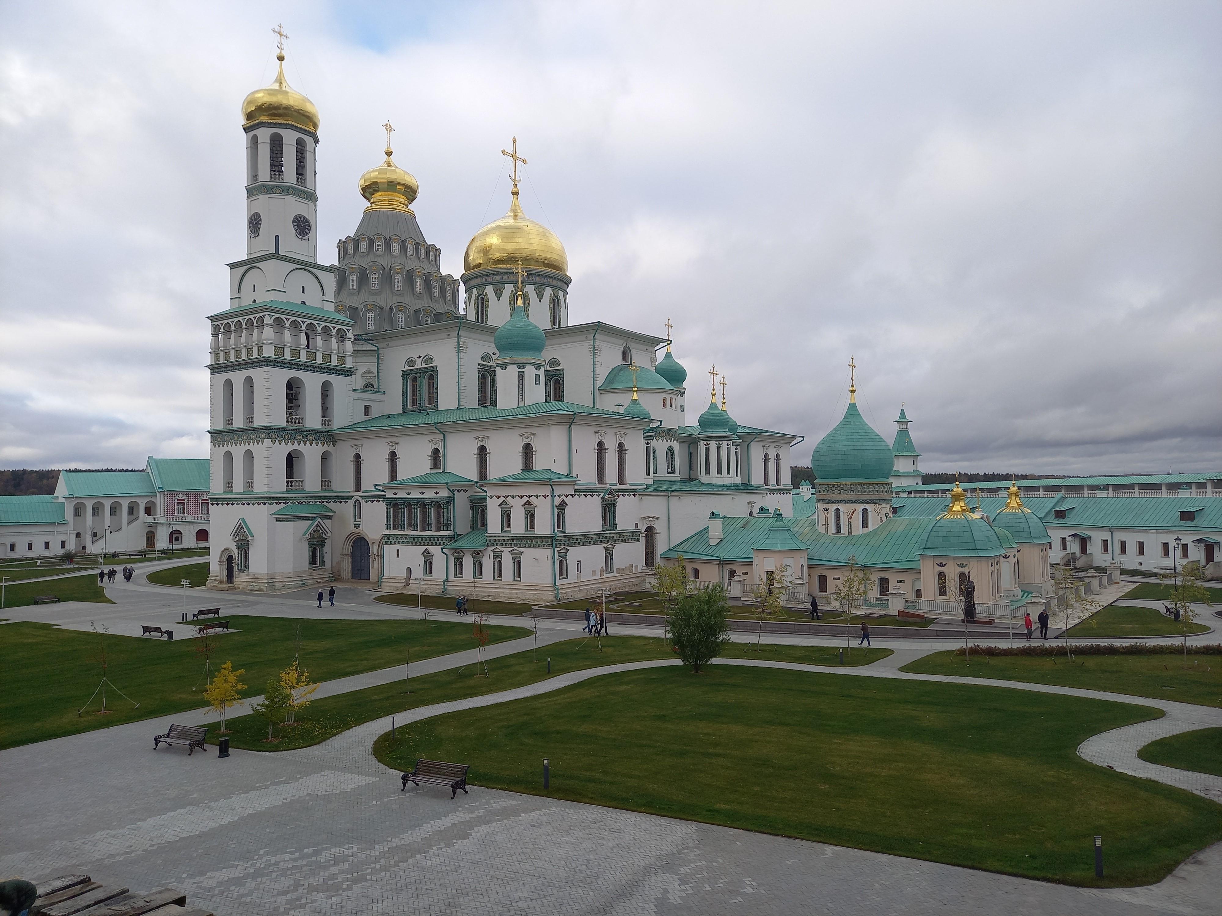 Перспектива храма