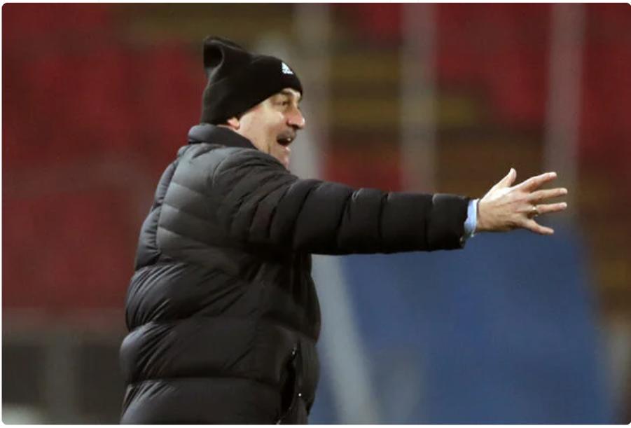 Станислав Черчесов, главный тренер сборной