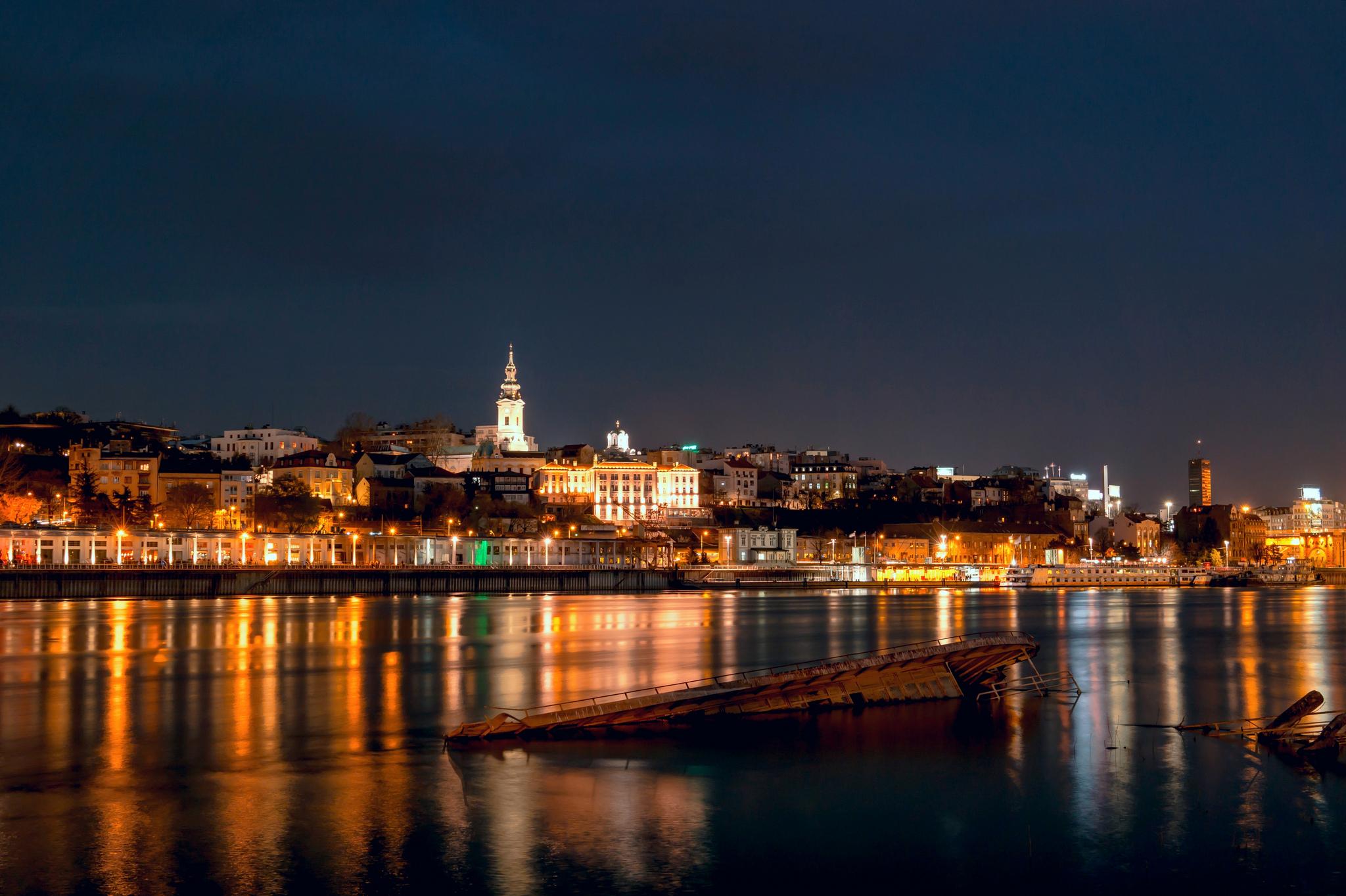 Томным вечером в Белграде