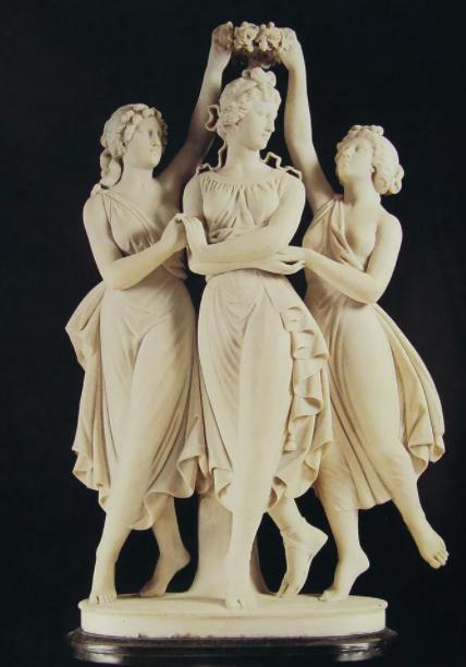 "Скульптура ""Грации коронуют Афродиту"""