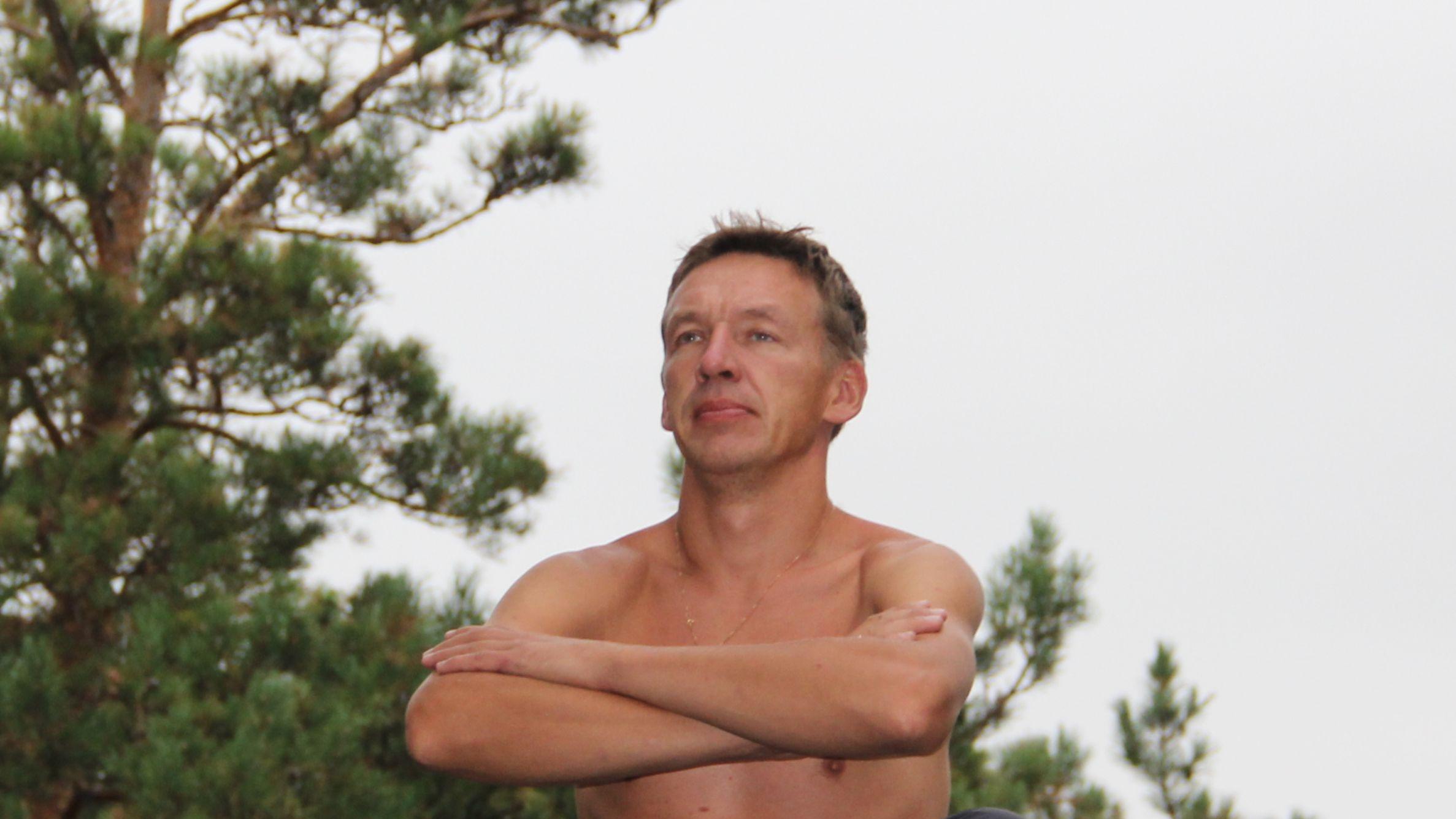 Медитация в уральских горах